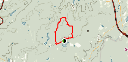 Pinchot Trail - North Map