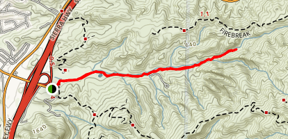 Whitney Canyon Park Trail Map