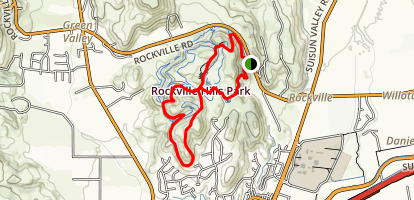 Lake Trails Loop Map