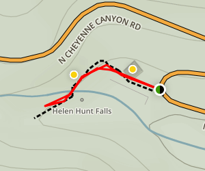 Helen Hunt Falls Trail Map