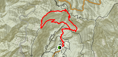 Windy Gap Trail Map