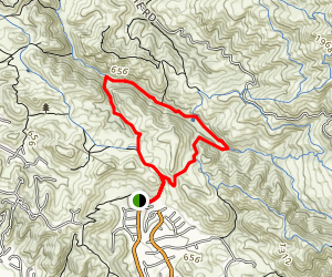 Pine Creek and Wall Point Trail Map