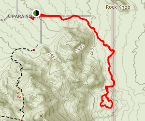 Marcus Landslide Trail Map