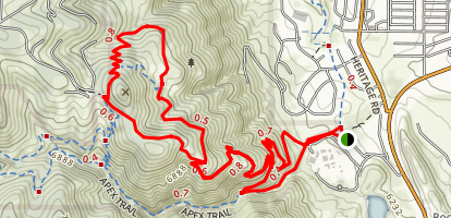 Pick N Sledge Grubstake Loop Trail Map