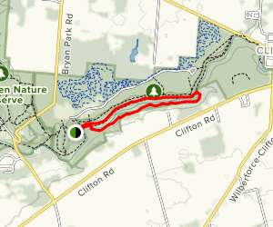 Pittsburg-Cincinnati Stage Coach and South Gorge Trail Loop Map