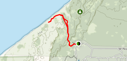 Nordhouse Dunes Trail Map