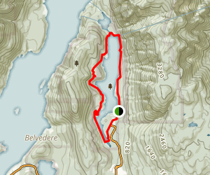 Buntzen Lake Trail Map