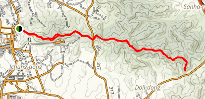 Buraksan Hiking Preserve Trail Map