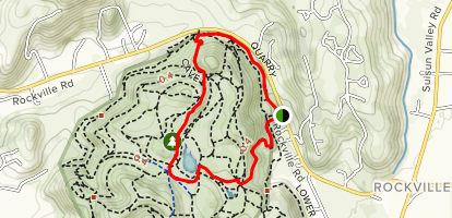 Green Valley Trail Map