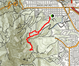 Kohler Mesa Trail Map
