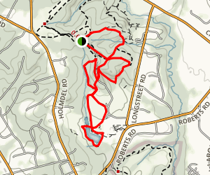 Holmdel Park Trails Map