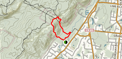 Kakiat Trail Map