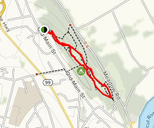 Rocky Hill Quarry Trail Map