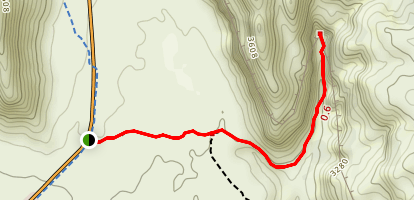 Johnson Canyon Trail Map