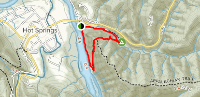 Lovers Leap Loop Trail Map