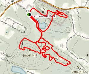 Stratham Hill Park Trail Map