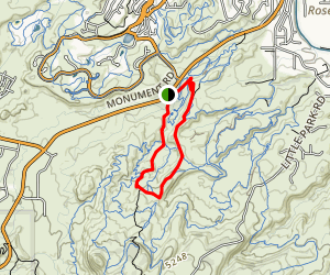 Tabeguache Trail Map