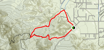 Brown Canyon Trail Map