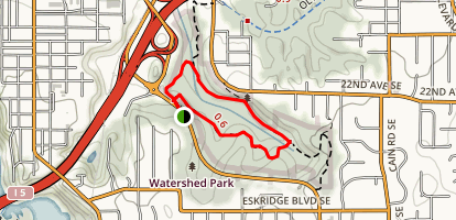 Watershed Park Trail Map