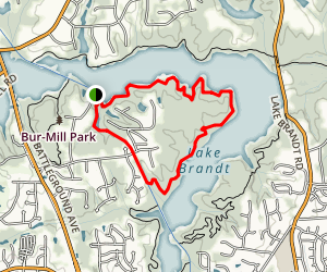Owl's Roost Trail Map
