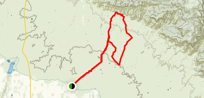 18 Road System Trail Map