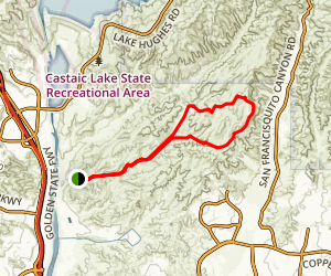 Tapia Canyon Trail Map