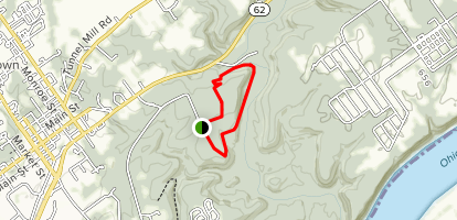Charlestown State Park #1 Trail Map