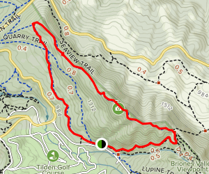 Big Springs, Seaview, and Quarry Trails Loop Map