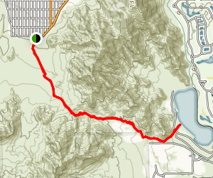 Cove to Lake Trail Map