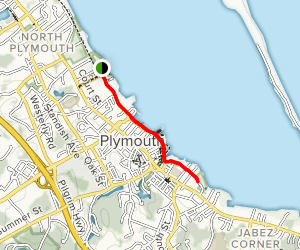 Plymouth Harbor Trail Map