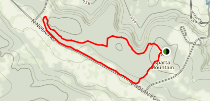 Fort Hood Trailblazers Mountain Bike Trail Map