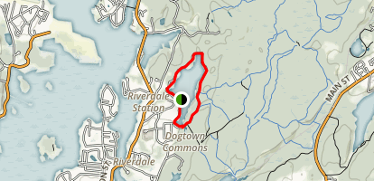 Goose Cove Reservoir Map
