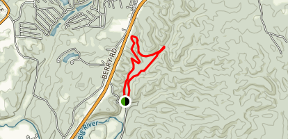 Mooner's Hollow Trail Map