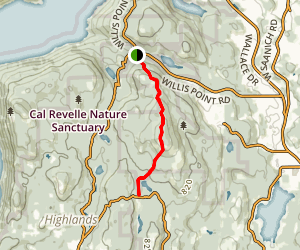 Mount Work Regional Trail Map