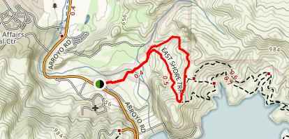 Lake Del Valle Trail Map
