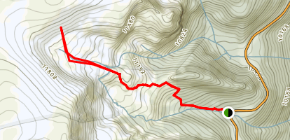 Second Creek Trail Map