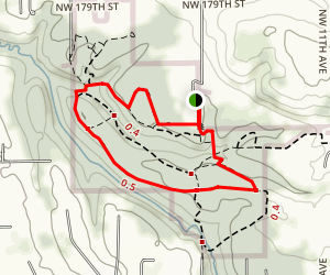 Whipple Creek Park Loop Trail Map