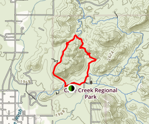 Overton Trail Map