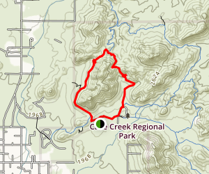 Overton Trail Loop Map
