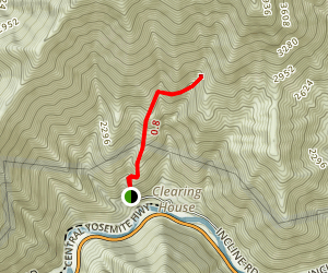 Clearing House Trail Map