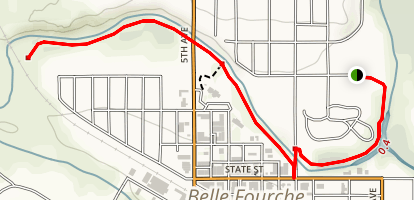 Belle Fourche Trail Map