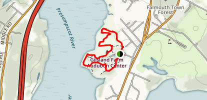 Gilsland Farm Trail Map