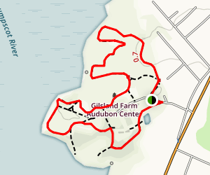 North Meadow Trail Map