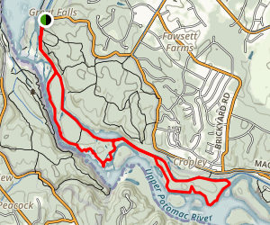 Billy Goat Trail Loop Map