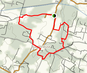 The Squirrels Loop Trail Map