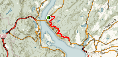 Anthony's Nose Trail Map