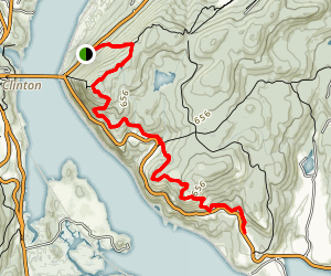 Anthony's Nose via Appalachian Trail Map
