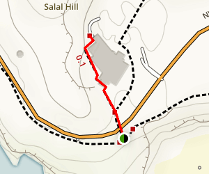 Communications Hill Trail Map