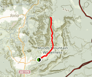 Jacks Canyon Trail Map
