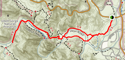 Grasslands Trail Map